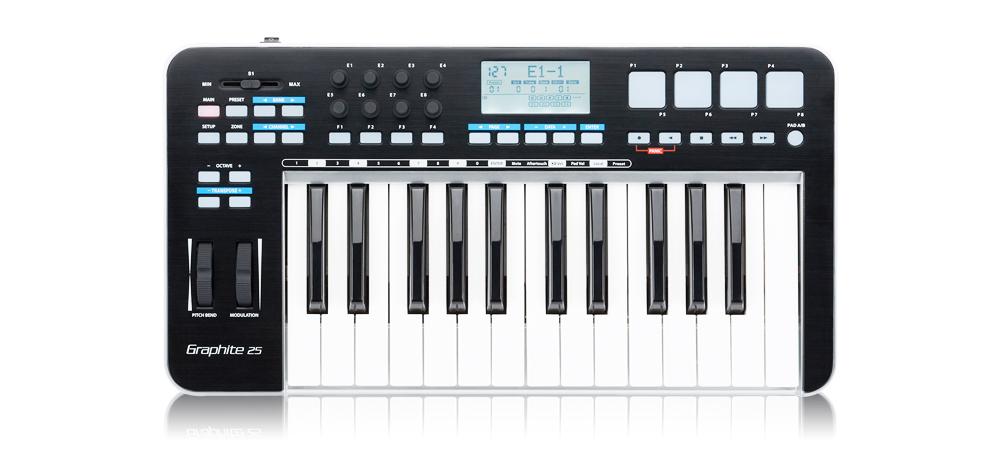 Graphite25  迷你25键MIDI键盘