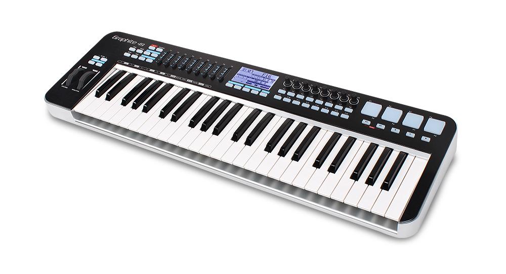 Graphite 49键 半配重MIDI键盘控制器