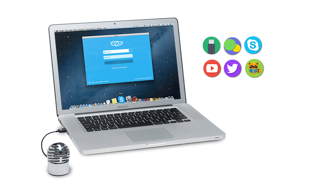 SAMSON Meteorite USB 迷你便携桌面话筒