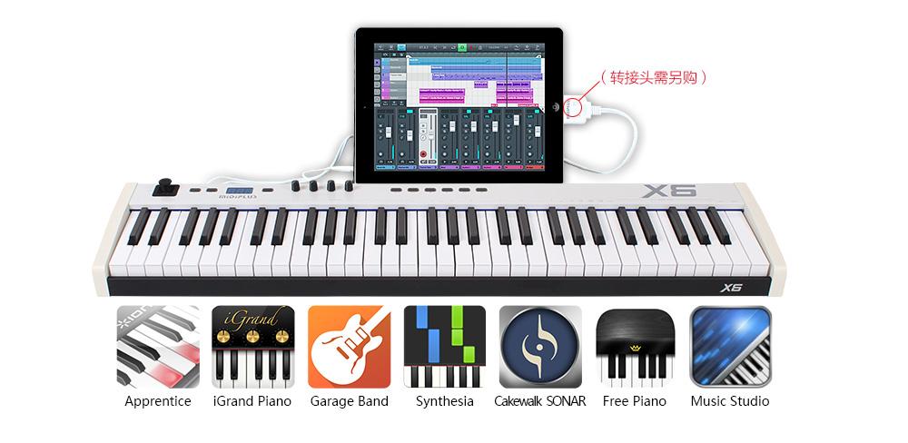 X6更可连接iPad