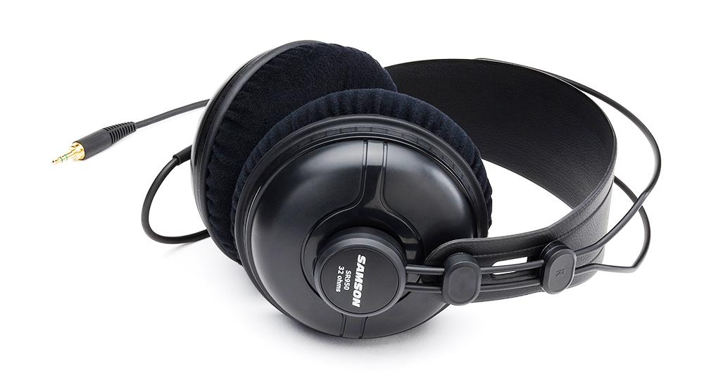 SR950 录音室专业级半封闭监听耳机
