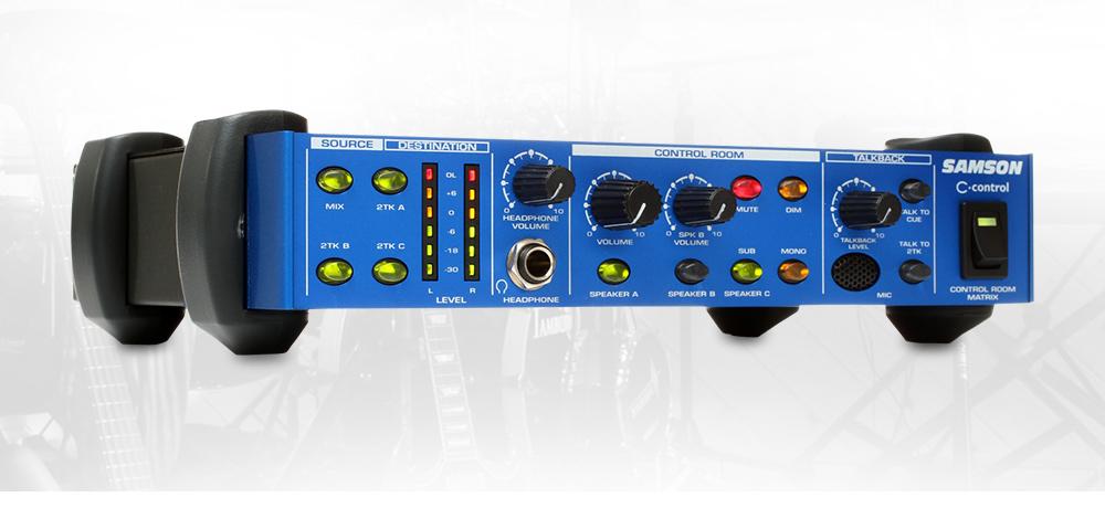SAMSON C.control 专业录音棚监听控制器