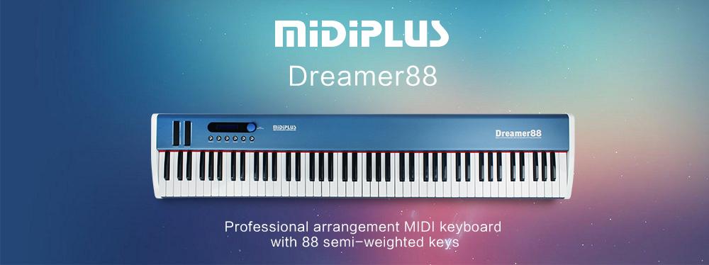midi controller midiplus dreamer 88