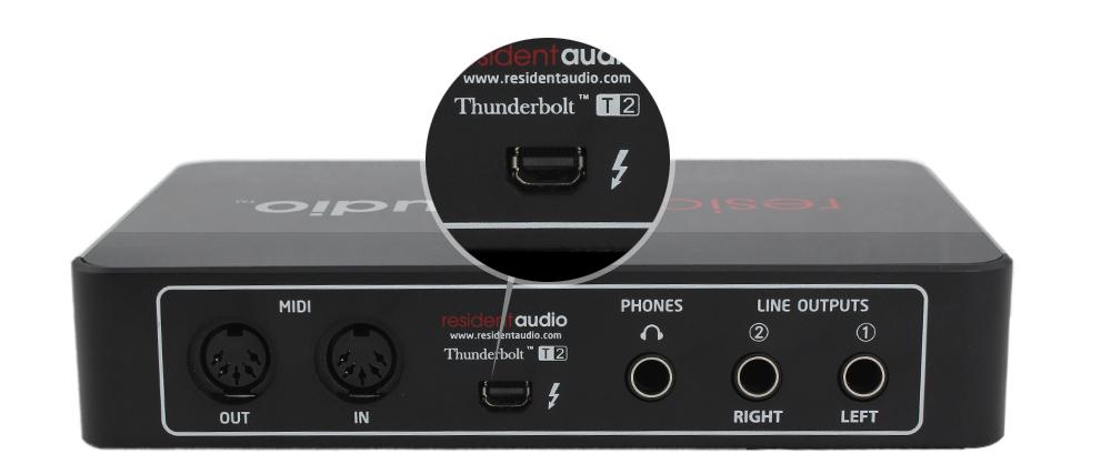 T2雷电接口专业声卡稳定性高,极低延迟