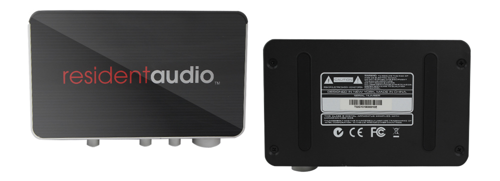 T2雷电接口专业声卡用料上乘,光面设计,品质卓越