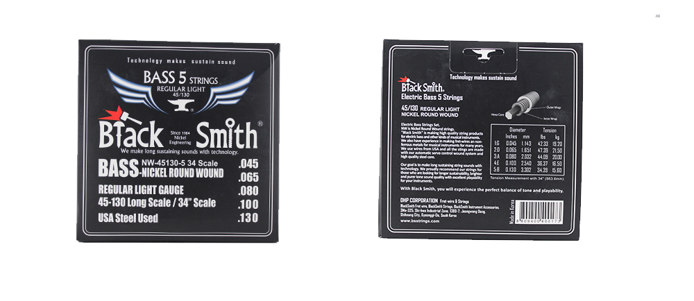 Black smith bass 5 strings