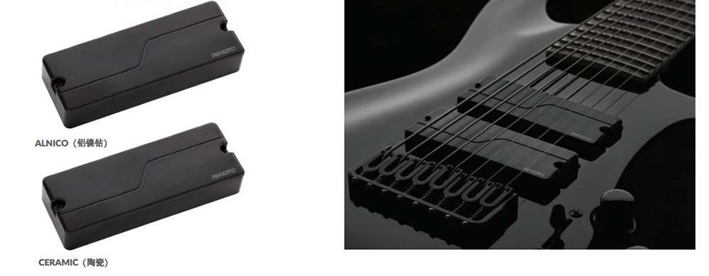 弦电吉他现代双线圈拾音器